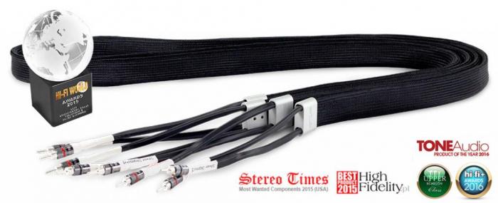 Cablu de Boxe Tellurium Q Silver Diamond 0