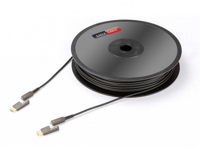 Cablu HDMI - micro HDMI 2.0B LWL Eagle High Speed 0