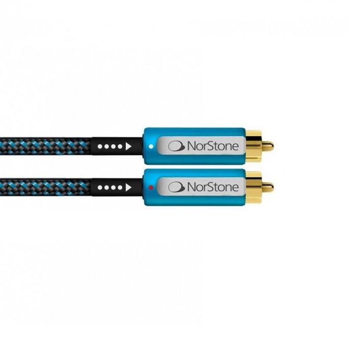 Cablu interconect RCA Norstone Skye +Ground [0]