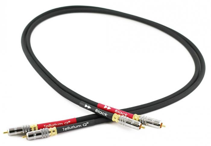 Cablu Interconect Tellurium Q Black RCA 0