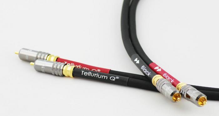 Cablu Interconect Tellurium Q Black RCA 2