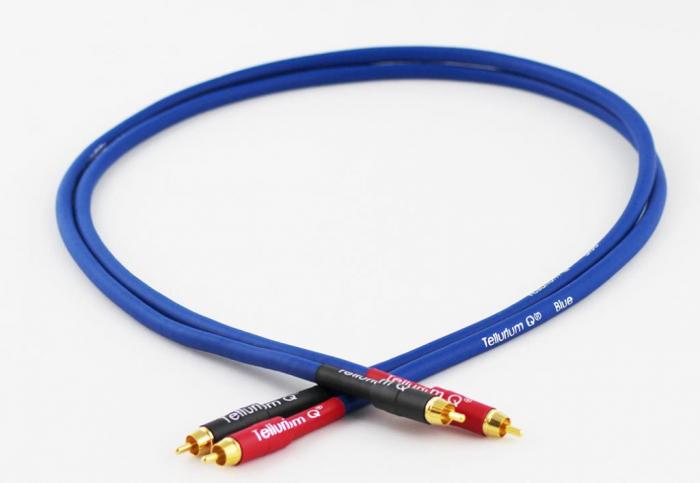 Cablu Interconect Tellurium Q Blue RCA [0]