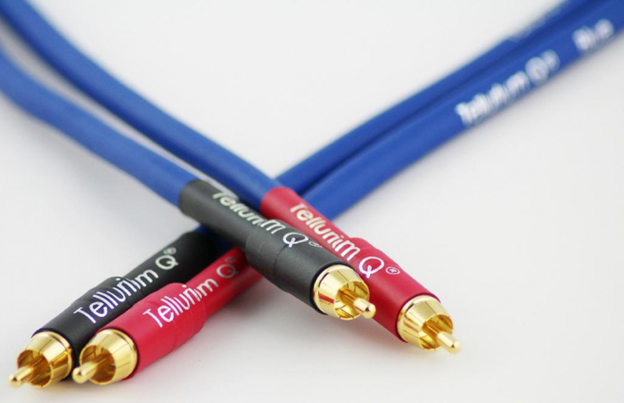 Cablu Interconect Tellurium Q Blue RCA [1]