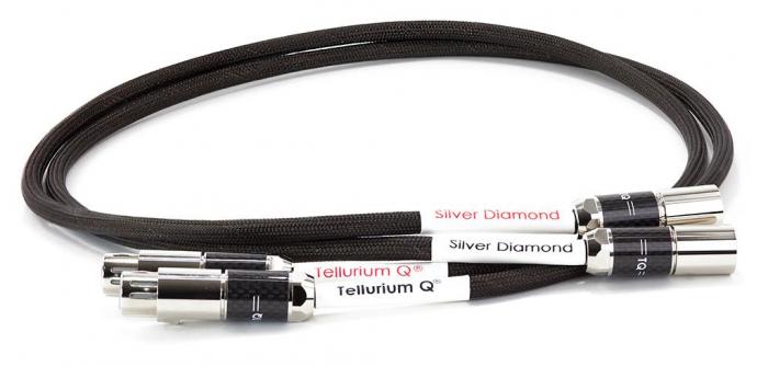 Cablu Interconect Tellurium Q Silver Diamond XLR [0]