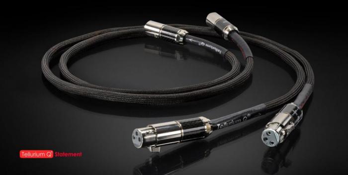 Cablu Interconect Tellurium Q Statement XLR 1metru 0