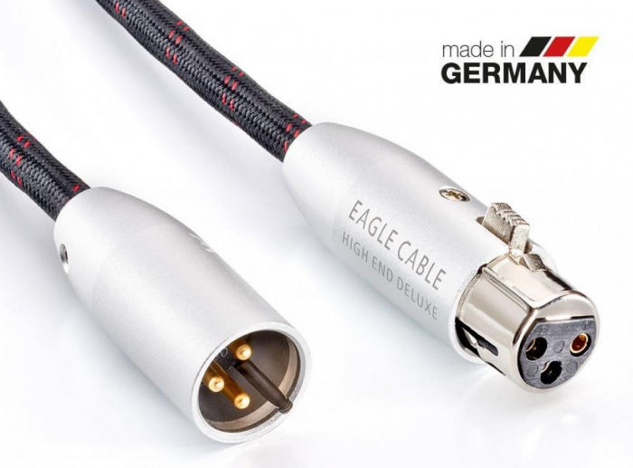 Cablu Interconect XLR Eagle High End Deluxe 0