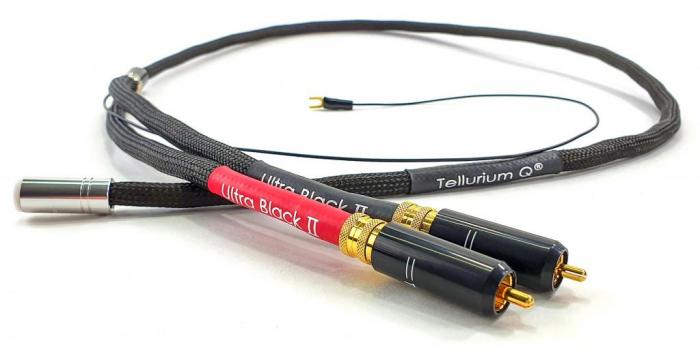 Cablu Phono RCA - DIN Tellurium Q Ultra Black II [0]