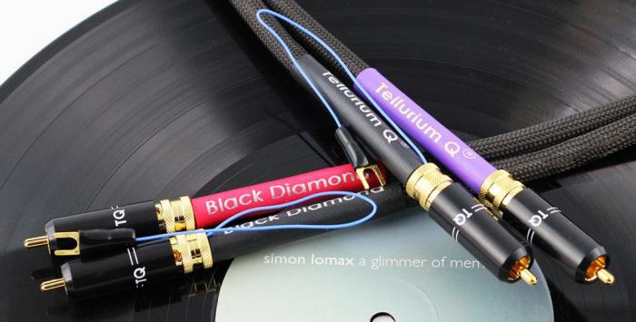 Cablu Phono RCA - RCA Tellurium Black Diamond TT RCA 1
