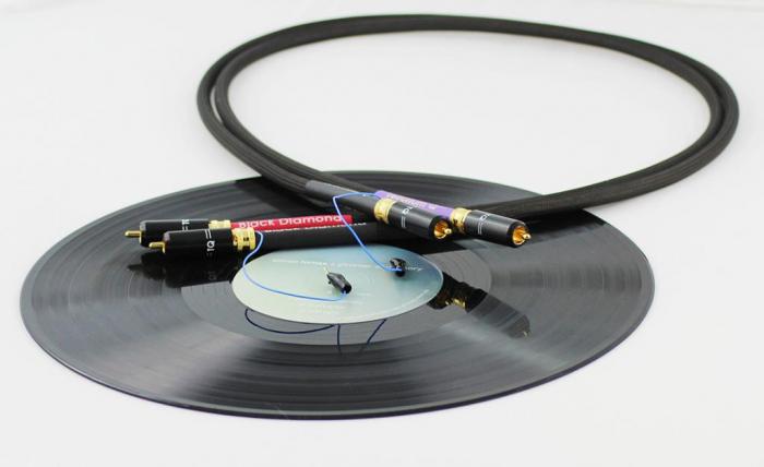 Cablu Phono RCA - RCA Tellurium Black Diamond TT RCA 0
