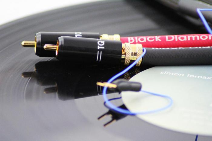 Cablu Phono RCA - RCA Tellurium Black Diamond TT RCA 2