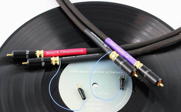Cablu Phono RCA - RCA Tellurium Black Diamond TT RCA 4