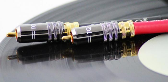 Cablu Phono RCA - RCA Tellurium Q Black Turntable RCA 2