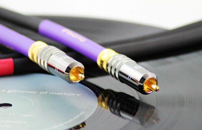 Cablu Phono RCA - RCA Tellurium Q Black Turntable RCA 4