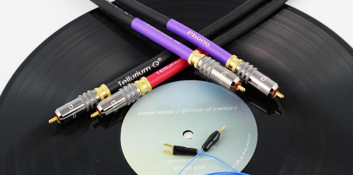 Cablu Phono RCA - RCA Tellurium Q Black Turntable RCA 3