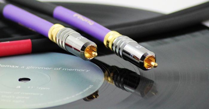 Cablu Phono RCA - RCA Tellurium Q Black Turntable RCA 1