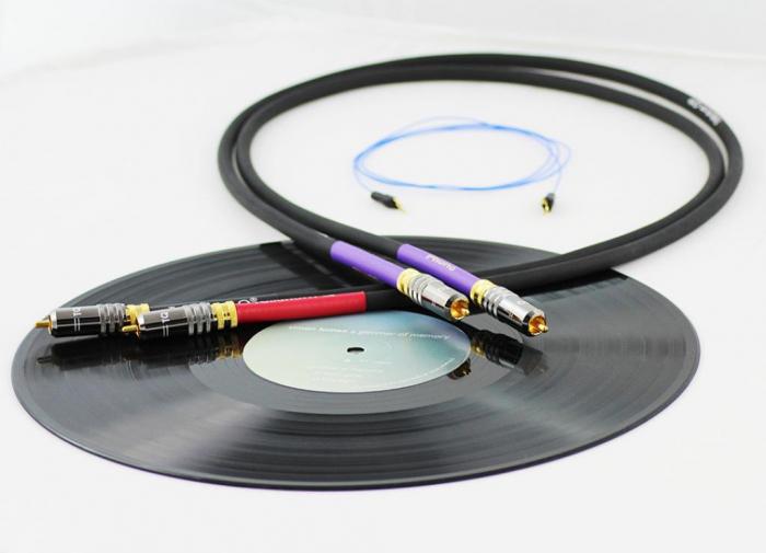 Cablu Phono RCA - RCA Tellurium Q Black Turntable RCA 0