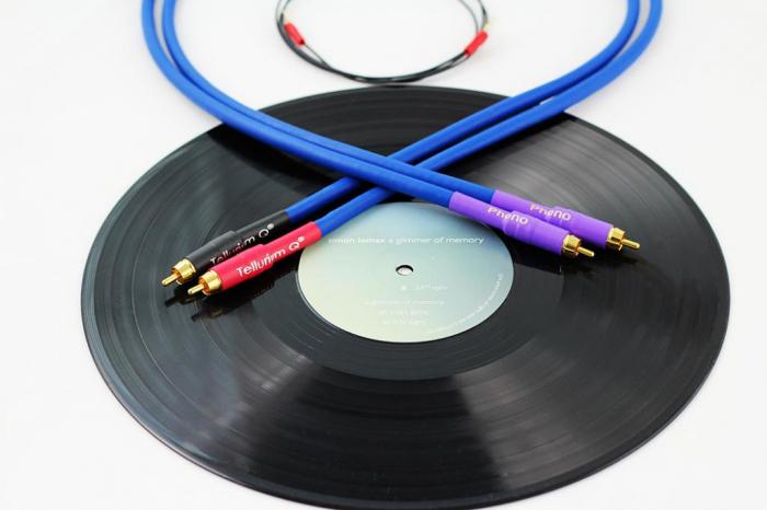 Cablu Phono RCA - RCA Tellurium Q Blue Turntable RCA 0