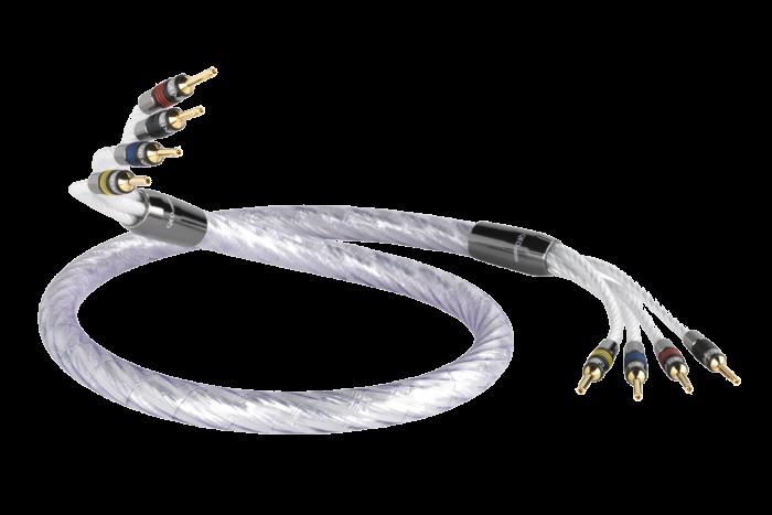 Cablu QED Genesis Silver Spiral Bi-Amp 3m 0