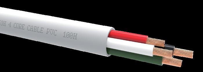 Cablu QED QX16/4 PVC White [0]