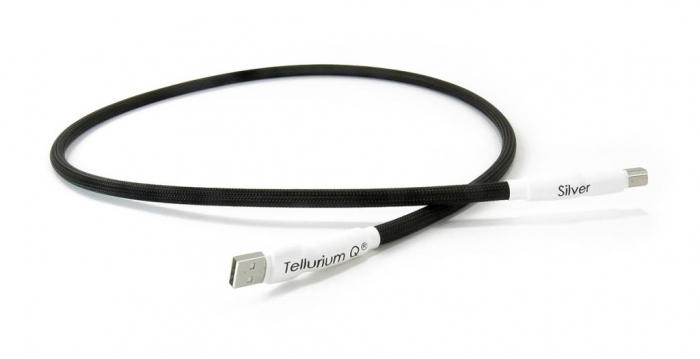 Cablu USB A-B Tellurium Q Silver 3