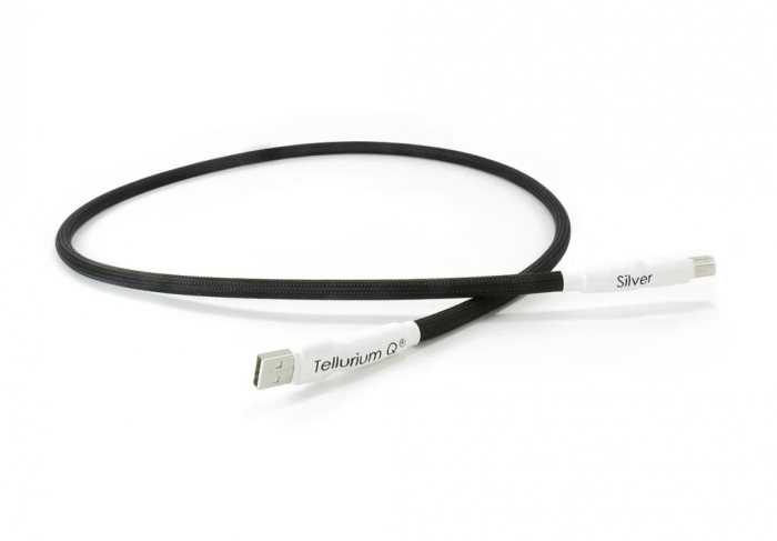 Cablu USB A-B Tellurium Q Silver 1