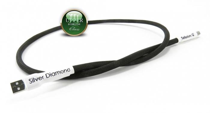 Cablu USB A-B Tellurium Q Silver Diamond 2