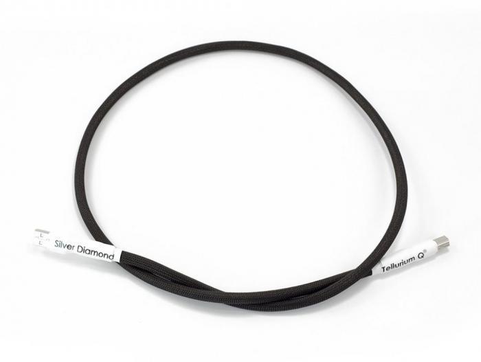 Cablu USB A-B Tellurium Q Silver Diamond 0