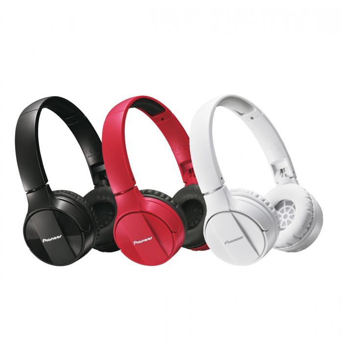 Casti audio bluetooth Pioneer SE-MJ553BT 1