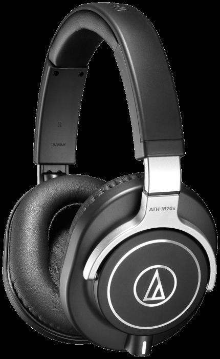 Casti DJ Audio-Technica ATH-M70x Negru 0