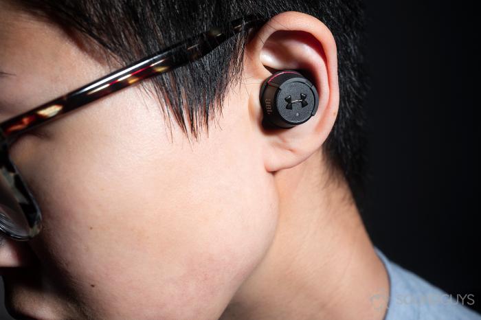 Casti In Ear wireless JBL UA True Wireless FLASH 4