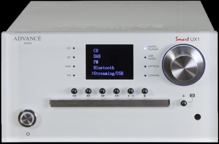 CD DAC Preamplificator Streamer Advance Paris UX1 0