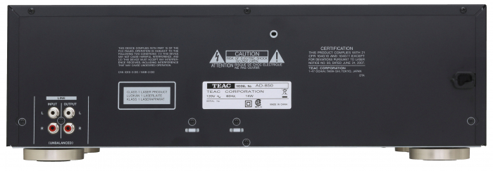 CD Player si deck Teac AD-850 2