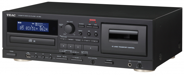CD Player si deck Teac AD-850 0