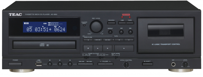 CD Player si deck Teac AD-850 1
