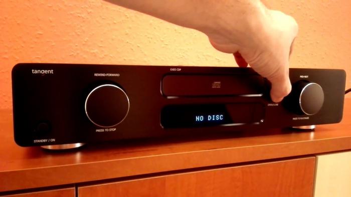 CD Player Tangent EXEO CDP 2