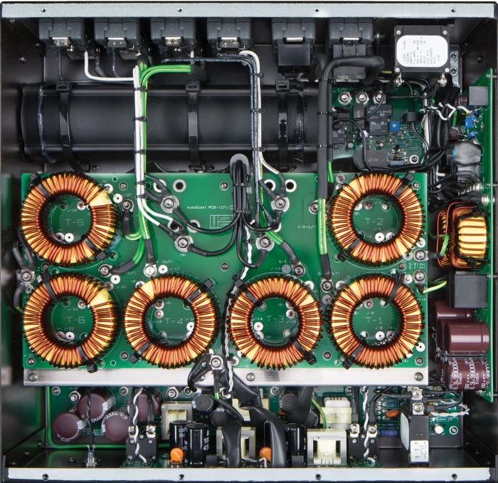 Conditioner retea electrica AudioQuest Niagara 7000, Low-Z Power Noise-Dissipation System 1