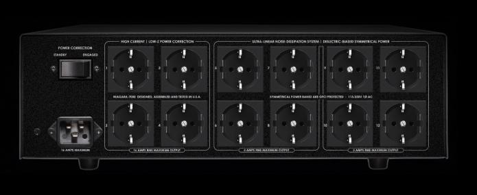 Conditioner retea electrica AudioQuest Niagara 7000, Low-Z Power Noise-Dissipation System 2
