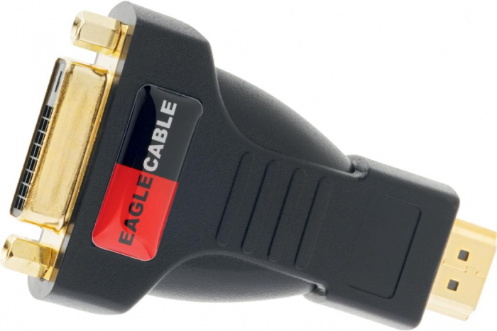 Conector Adaptor DVI-HDMI Eagle [0]
