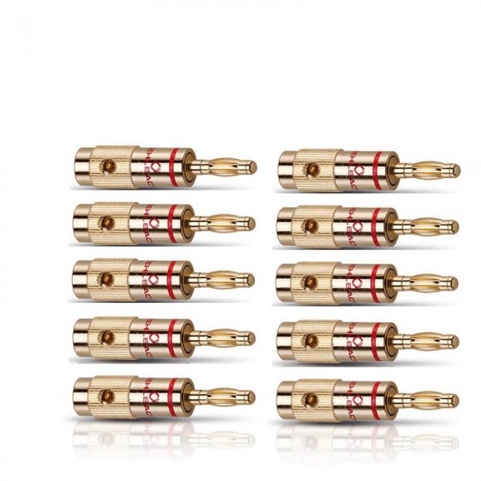 Conectori cablu tip banana Oehlbach 103001 0