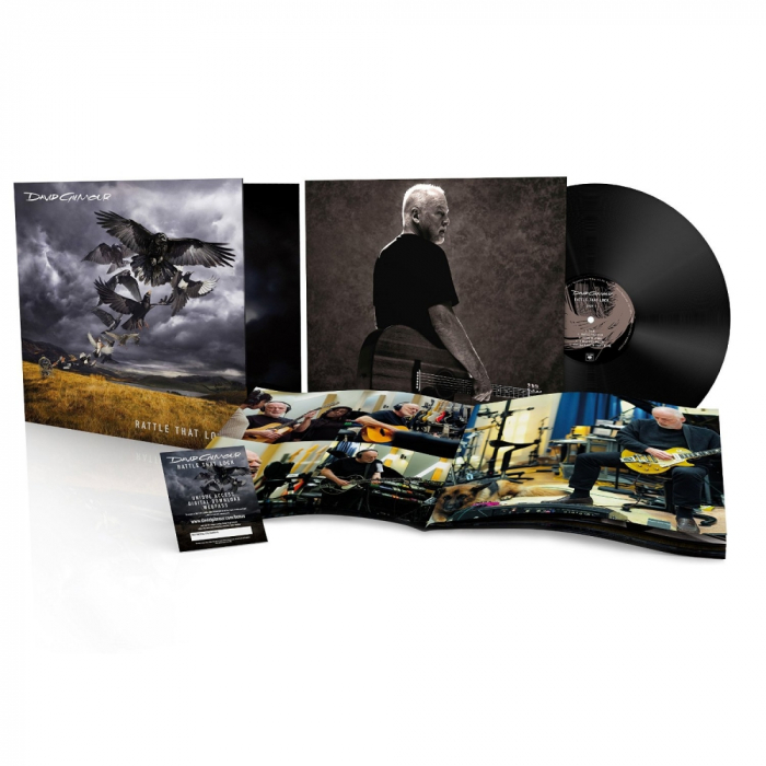 Vinil David Gilmour (from Pink Floyd)-Rattle That Lock (180g Audiophile Pressing)-LP 0