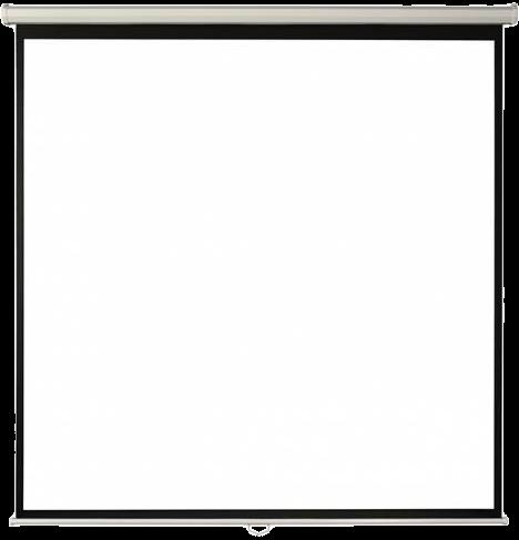 Ecran proiectie perete/tavan 180 x 180 cm 0