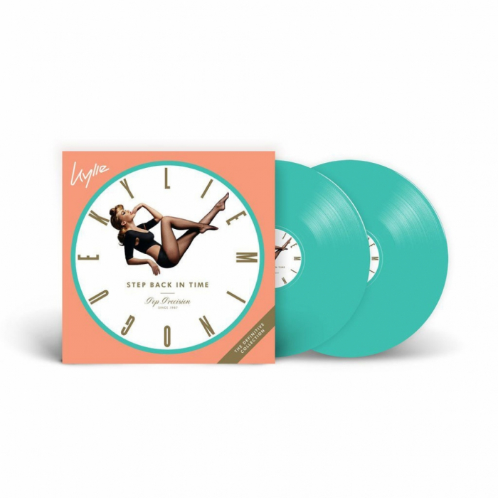 Vinil Kylie Minogue-Step Back In Time: The Definitive Collection (Limited Mint Green Disc)-2LP 0