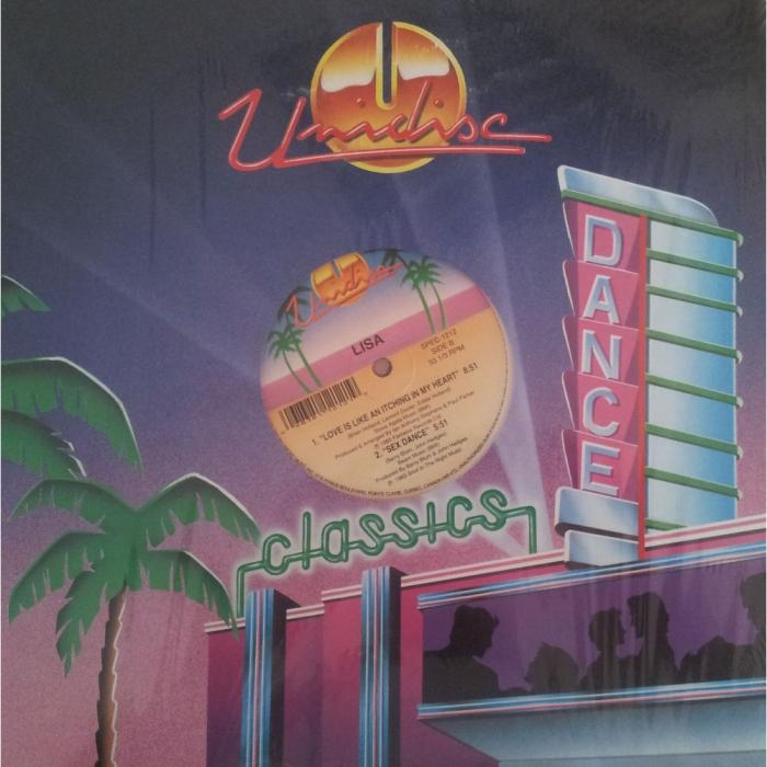 Vinil Lisa-Jump Shout (Super Disco Hit !)-Maxi Vinyl 0
