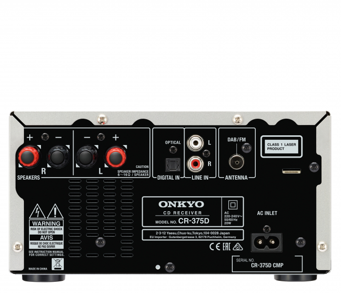 Mini sistem Onkyo CS-375D 1