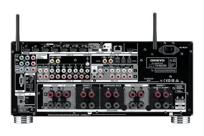 OnkyoReceiver Onkyo TX-RZ3100 4