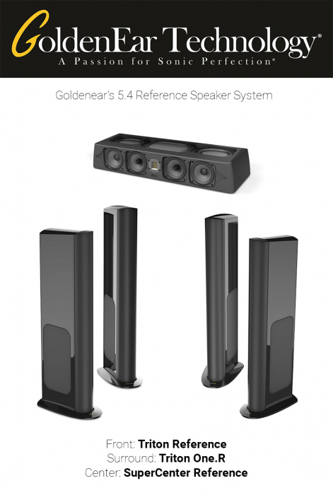 Pachet boxe 5.1 Reference cu GoldenEar Triton Reference, SuperCenter Reference si Triton One.R 0