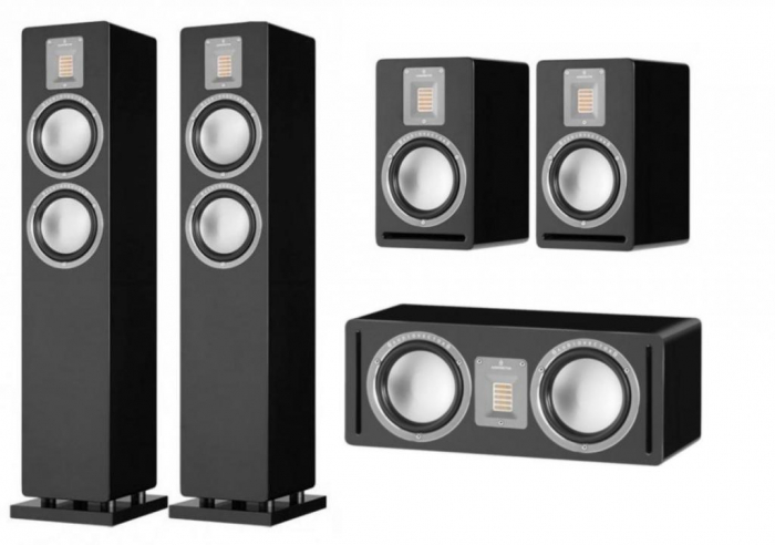 Pachet Boxe Audiovector QR 3 + Boxe Audiovector QR 1 + Boxa Audiovector QR C [0]