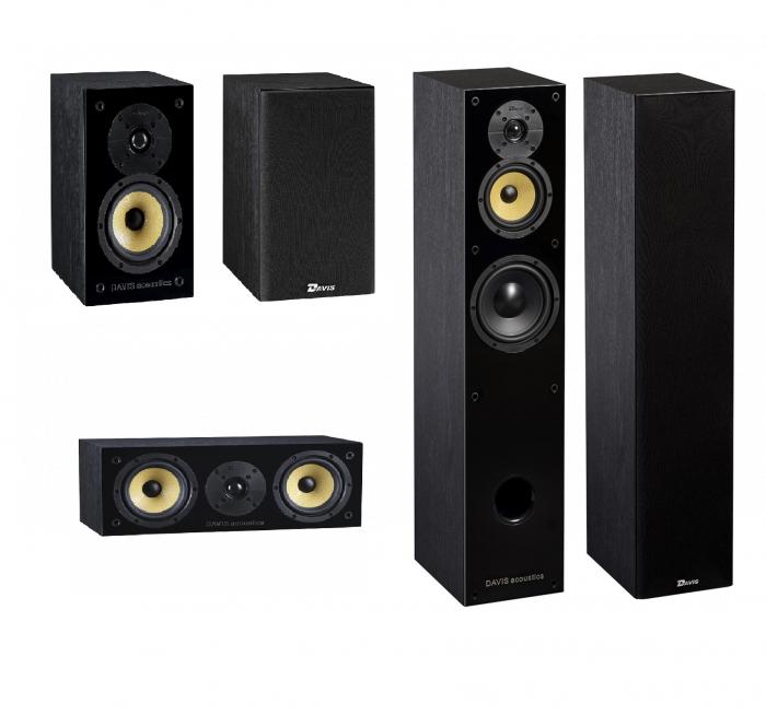 Pachet Boxe Davis Acoustics Balthus 50 + Boxe Davis Acoustics Balthus 30 + Boxa Davis Acoustics Balthus 10 0