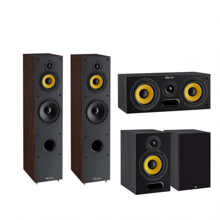 Pachet Boxe Davis Acoustics Mia 60 + Boxe Davis Acoustics Mia 20 + Boxa Davis Acoustics Mia 10 0