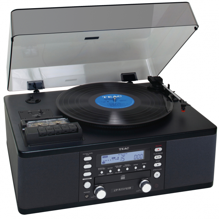 Pick-up cu CD, Tuner si Casetofon Teac LP-R550USB 0